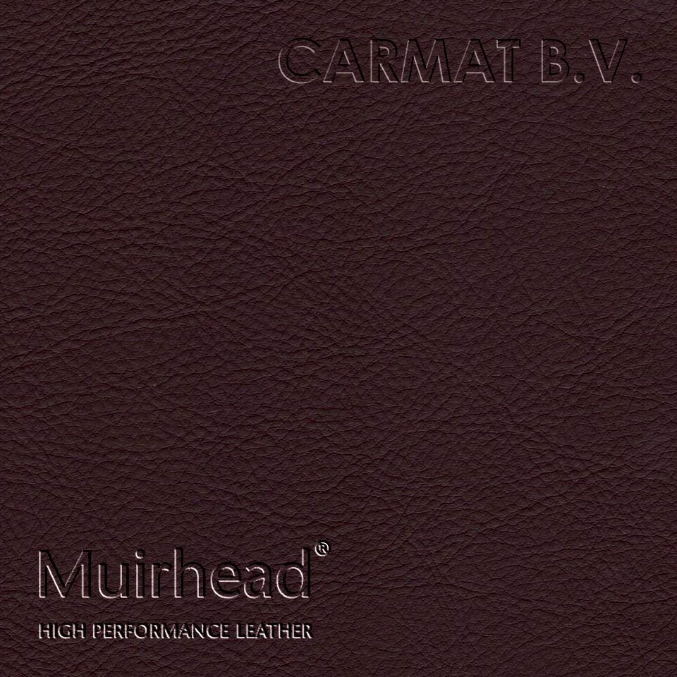 Samplebook Design: Leather Hide Muirhead Caledonian Burnt Plum Per Hide