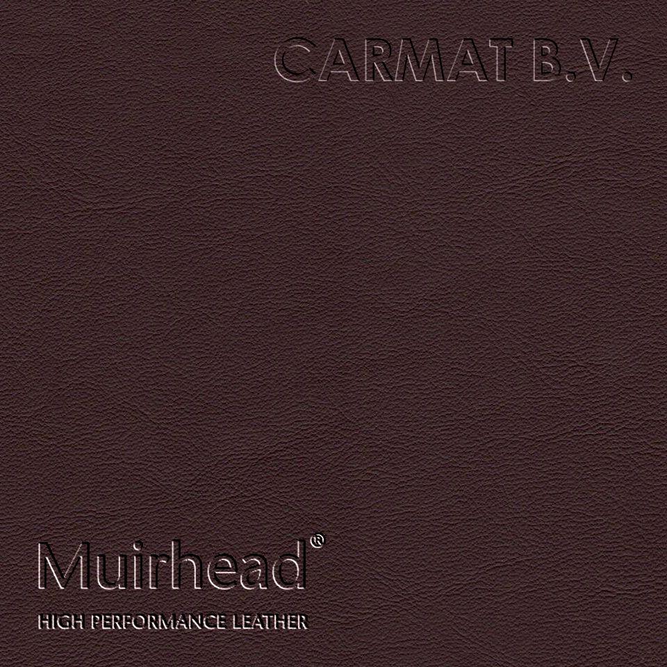Samplebook Design: Leather Hide Muirhead Caledonian Chocolate Per Hide