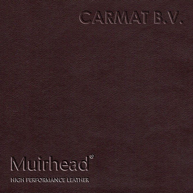 Samplebook Design: Leather Hide Muirhead Lustrana Mahogany